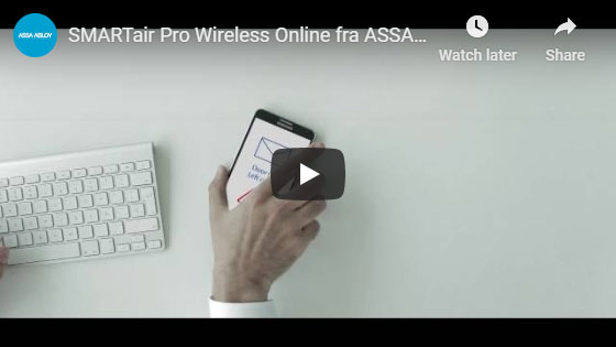 SMARTair Pro Wireless Online fra ASSA ABLOY