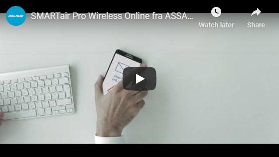 SMARTair Pro Wireless Online fra ASSA ABLOY