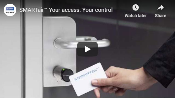 SMARTair™ Your access. Your control