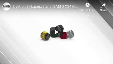 Elektronisk Låsesystem   SALTO XS4 GEO